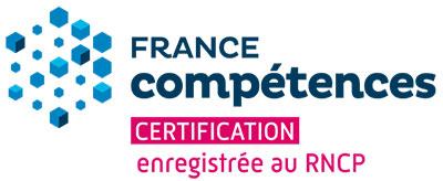 logo certification : France compétences